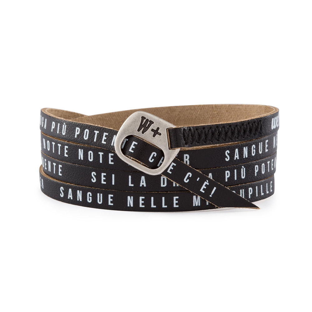 "Bracciale My Song ""Note killer"" Club Dogo"