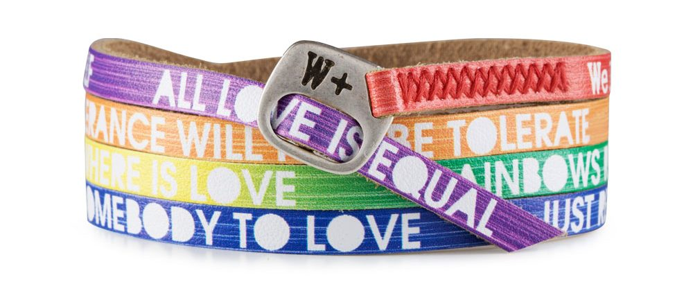 Bracciale Love is Love Rainbow Color